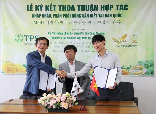 Đẩy mạnh nhập khẩu nông sản, thực phẩm của Việt Nam tại Hàn Quốc